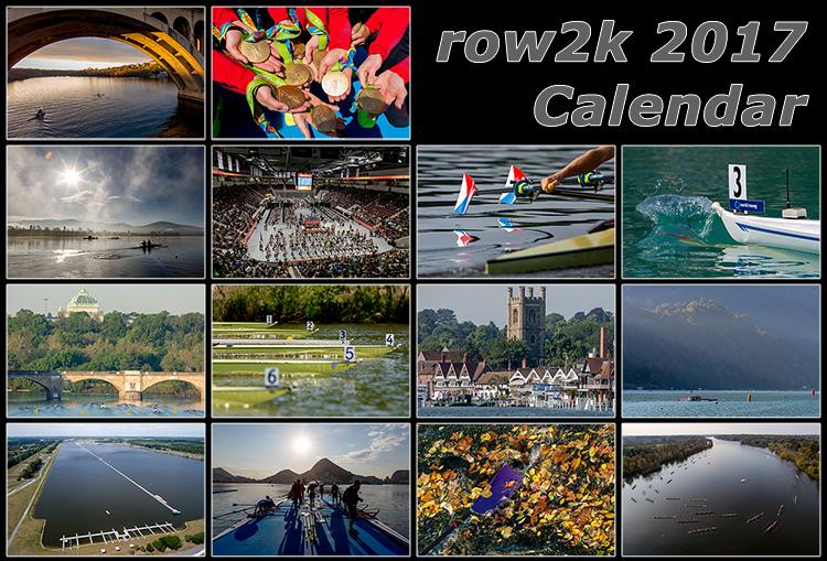 2017 row2k rowing calendar