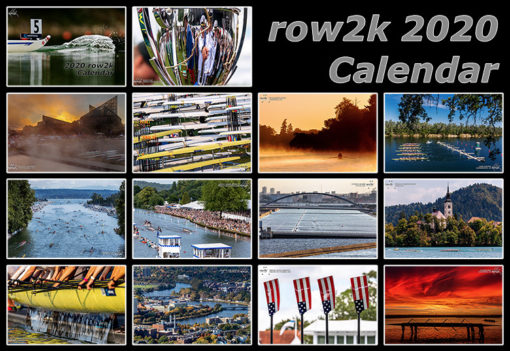 2020 row2k calendar
