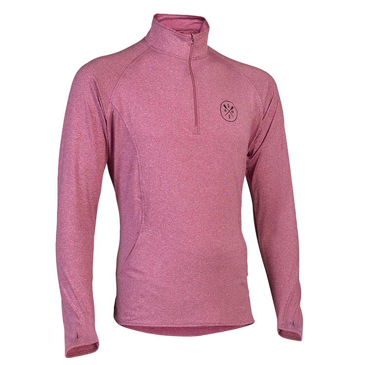 SxS Pull Over Performance Sweatshirt (Pink) | row2k rowing store