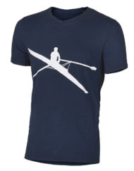 SxS T-Shirt (Row Shadow) - Navy